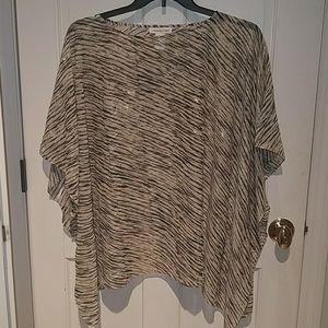 Beautiful shawl/blouse by Coldwater Creek